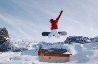 Техника безопасного катания на сноуборде.