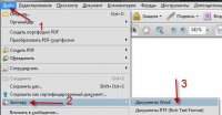 Как конвертировать PDF в doc