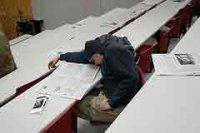 Как не заснуть на скучной лекции