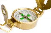 Как пользоваться компасом и определять направление движения.